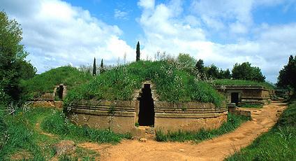 Etruskische graven