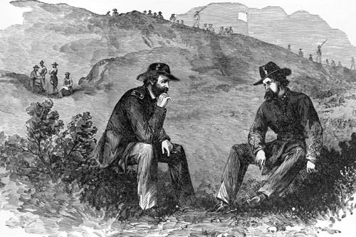 Ulysses S. Grant en John C. Pemberton