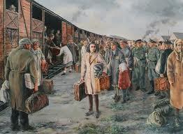 Vertrek uit Westerbork. ( Geert Schreuder )