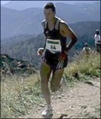 Sieger 2000: Jonathan Wyatt/NZL WM-Strecke (11,6 KM, 1.204 m Höhendiff.) 47:29,2