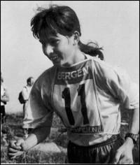 Siegerin 1994: Dita Hebelkova, Marathonst. Upice/CZE 55:03,6