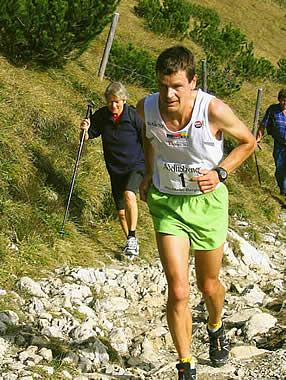 Jonathan Wyatt, Neuseeland Sechsfacher Weltmeister, erfolgreichster Bergläufer aller Zeiten