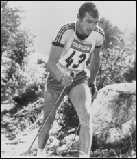 Sieger 1974: Hans Speicher, WSV Reit im Winkl 50:33,0