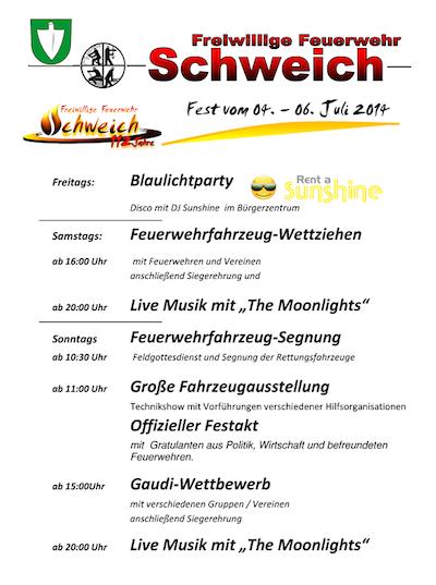 Feuerwehr Fest Schweich