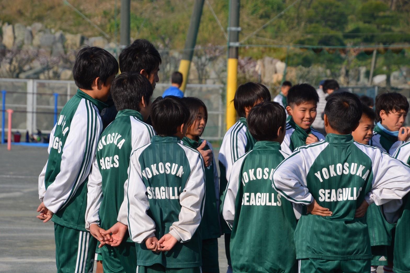 3/5 卒団式 ミーティング&集合写真