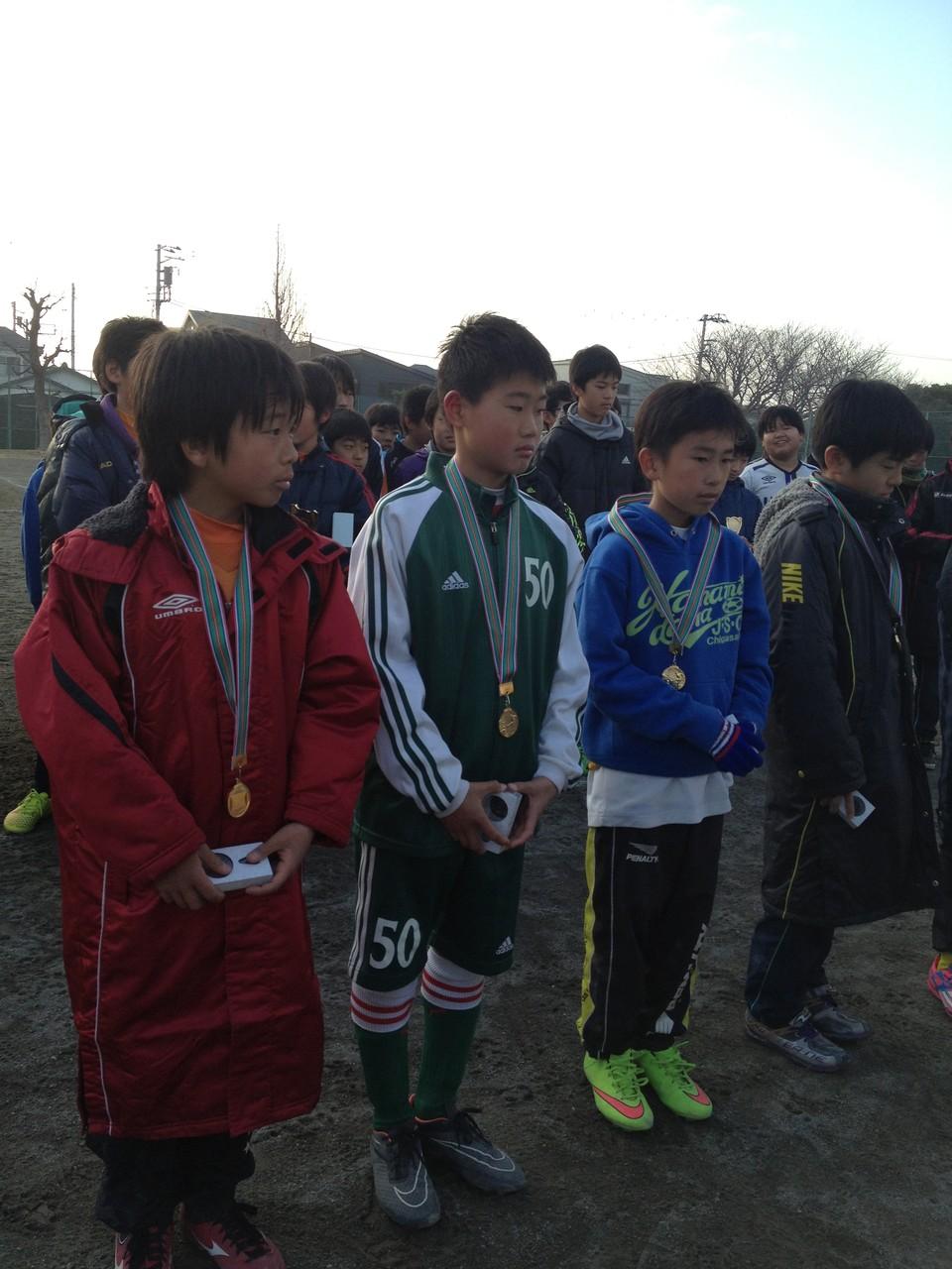 浜見平カップ U-12(6年生) 優秀選手賞