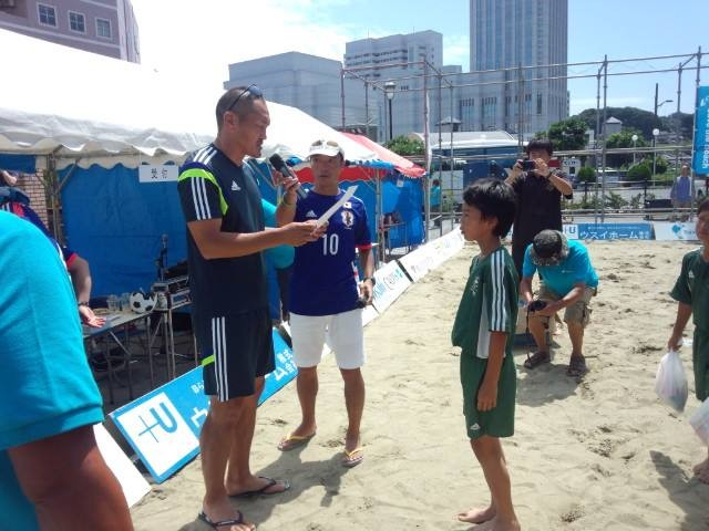 Save the Beach in横須賀2015 ビーチサッカー大会U-12