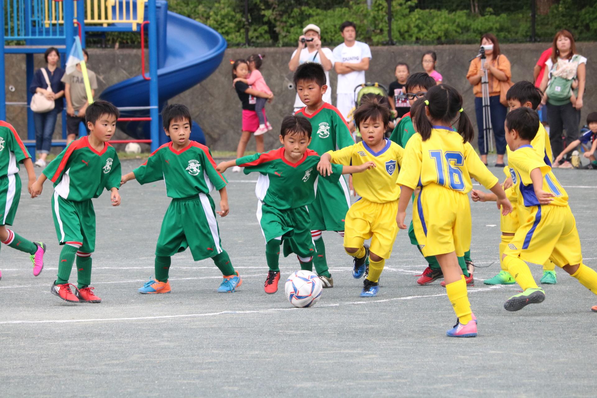 9月24日(日) U-7 低学年夏の特別大会