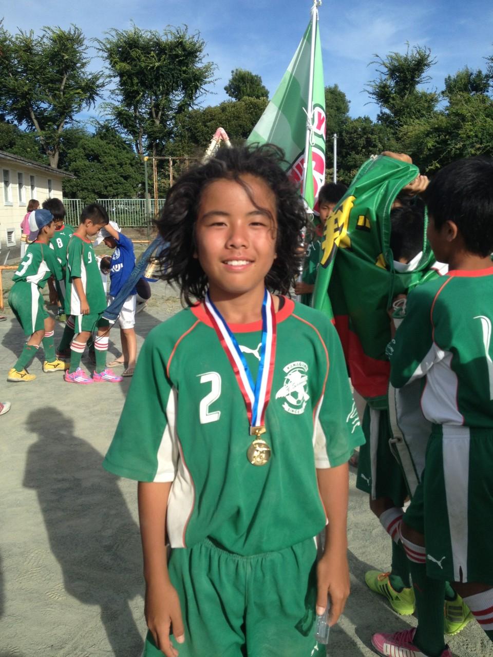 シーガルズ杯 U-12(6年生) 優秀選手賞
