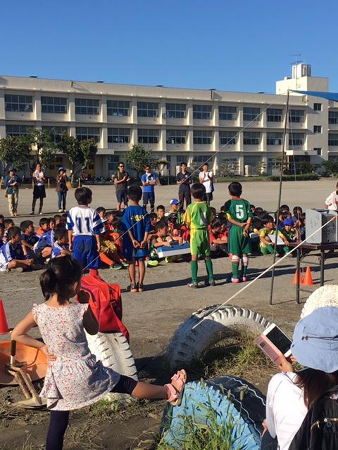 9月18日(月・祝) U-10 初声Jrカップ