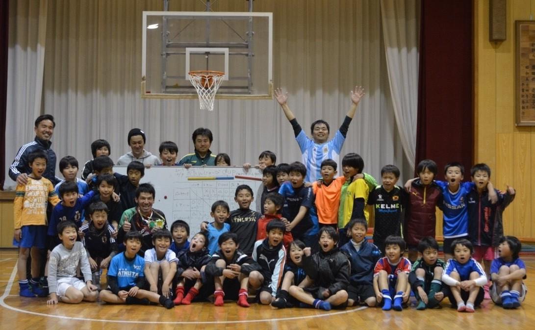 体育館練習 U-10,U-9(4年生,3年生)