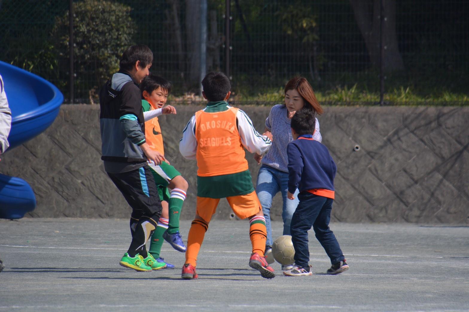 3/5 卒団式 親子サッカー