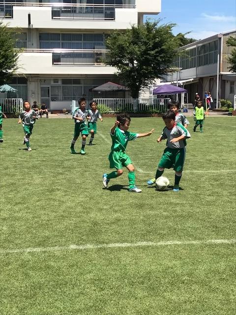 7月15日(土) U-8 第14回小山台SC CGパーソナルグリーンカップ