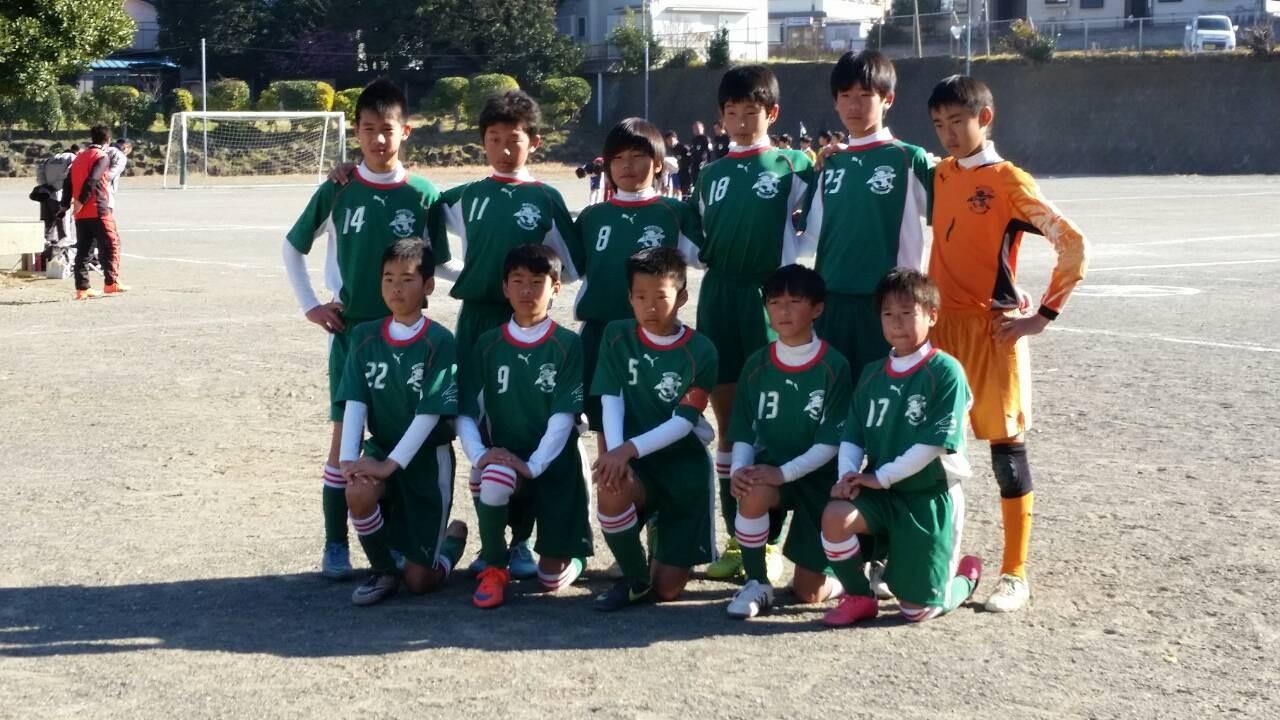 三浦半島大会 U-12風神(6年生)