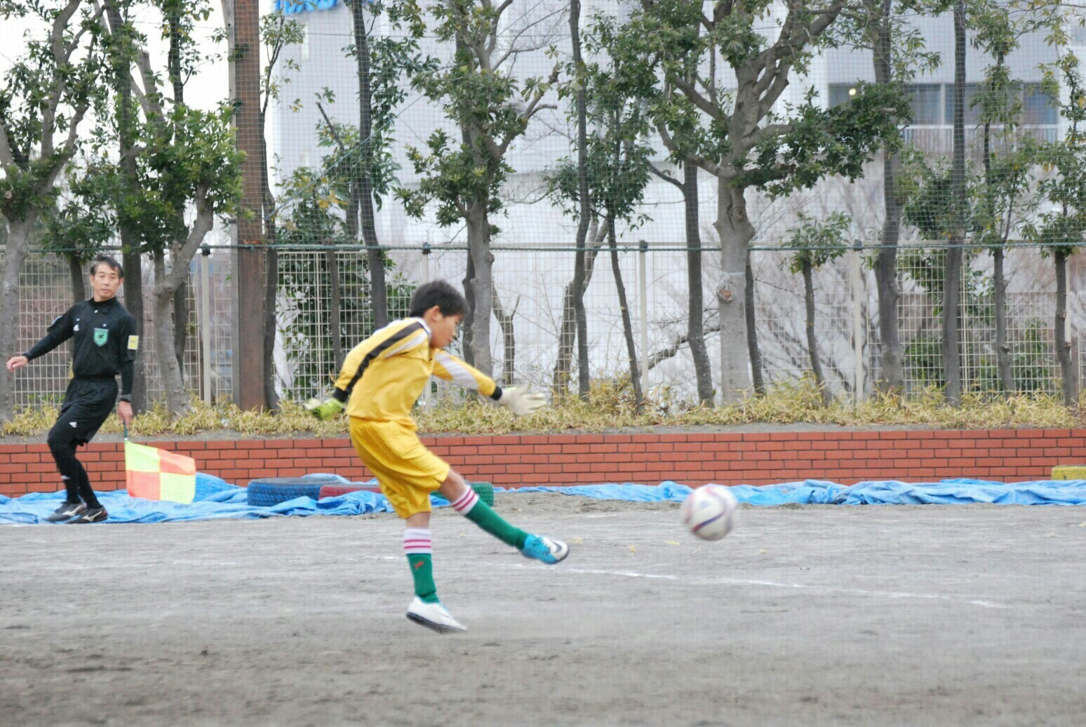 1月8日(月・祝) U-9 横浜すみれ末吉杯