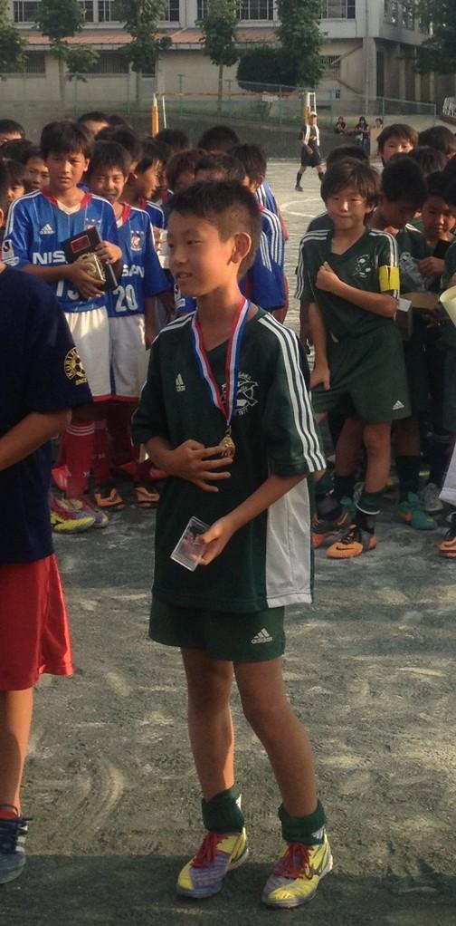 シーガルズ杯 U-11 優秀選手賞