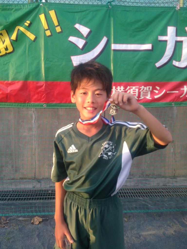 かもめ杯 U-11(5年生) 優秀選手賞