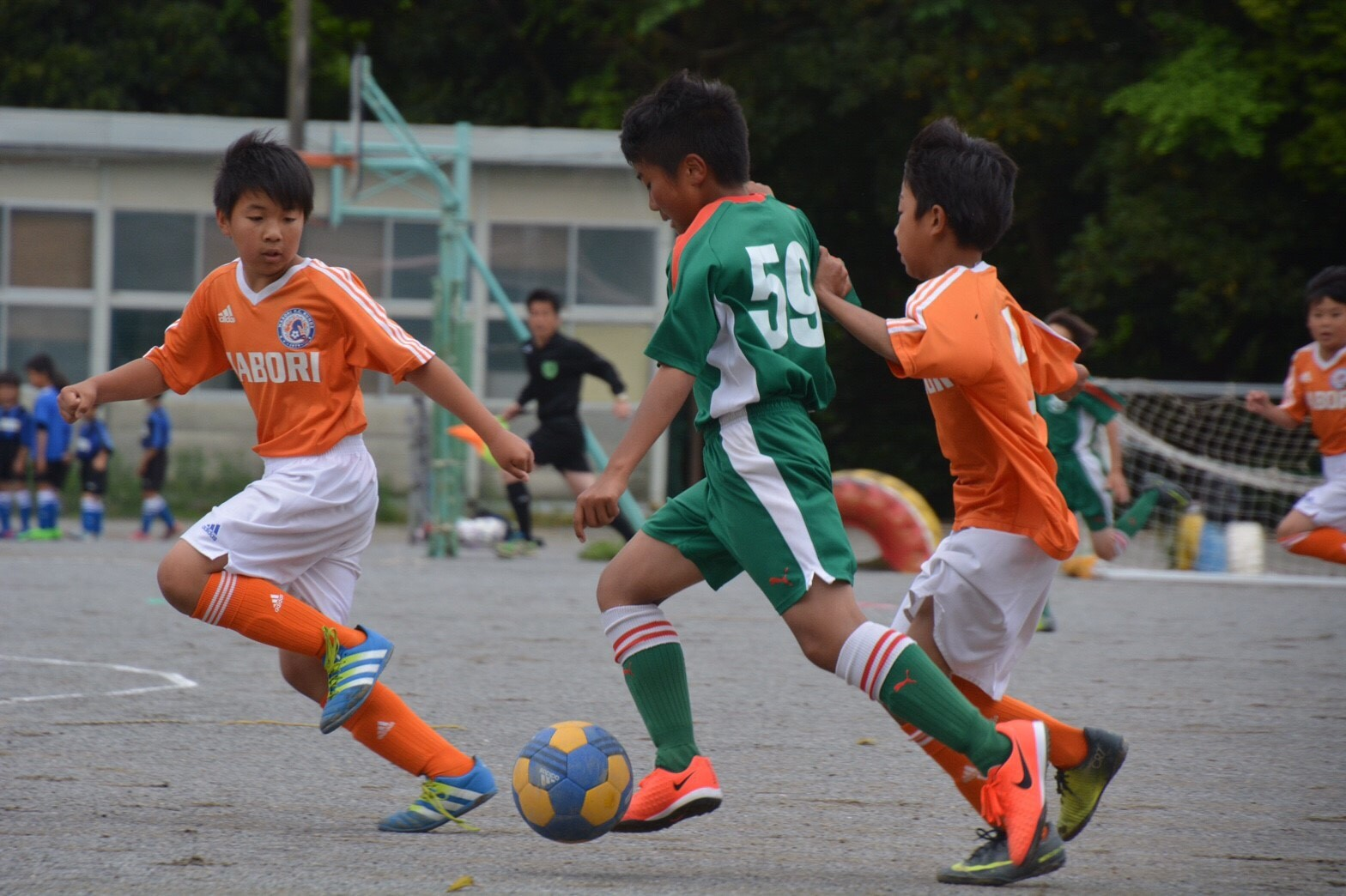 5月14日(日) U-12 FAリーグ