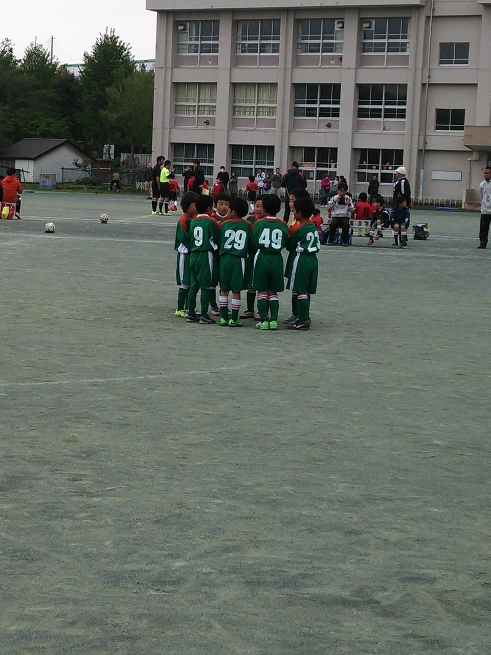 4月24日(日)Sリーグ U-9