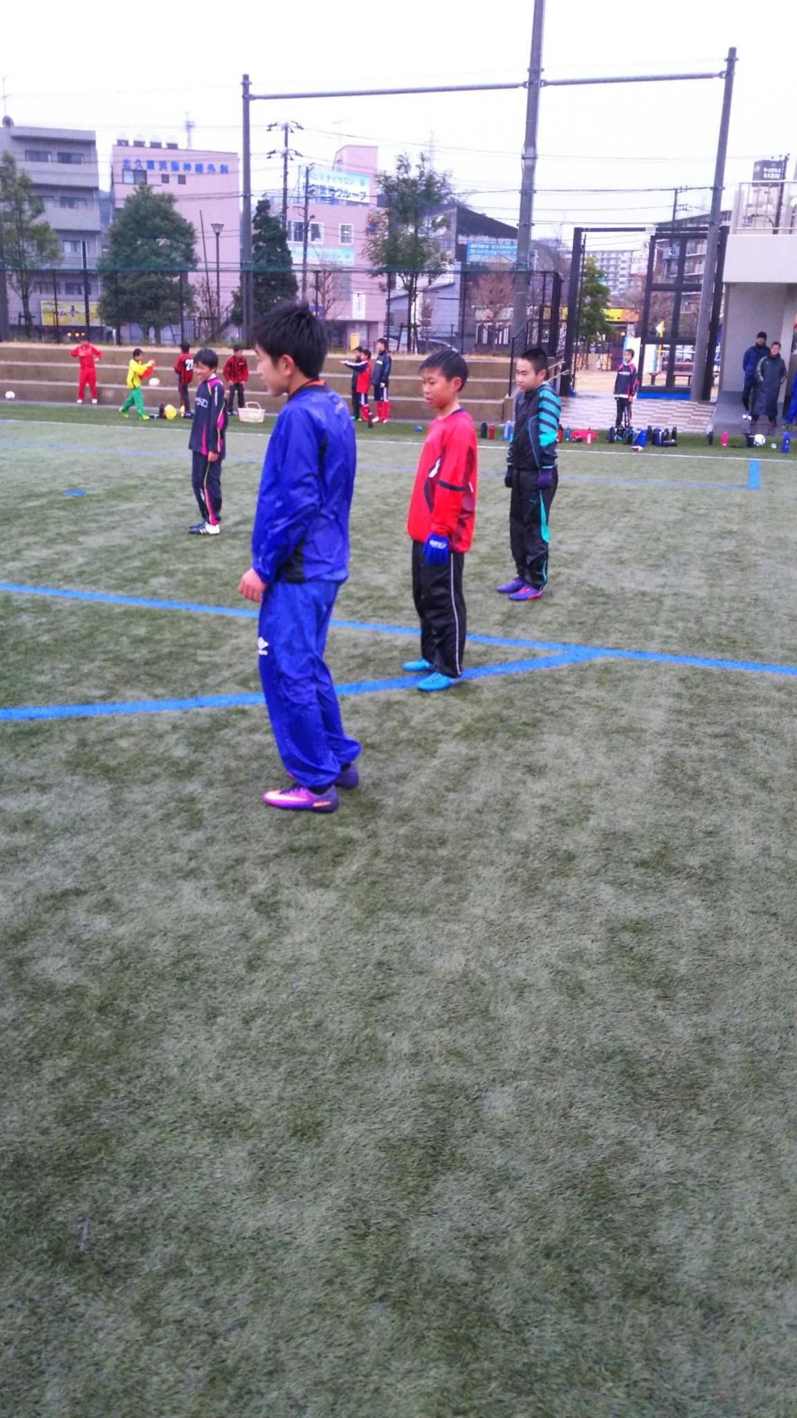 1/8 U-12 Jリーガーサッカー教室