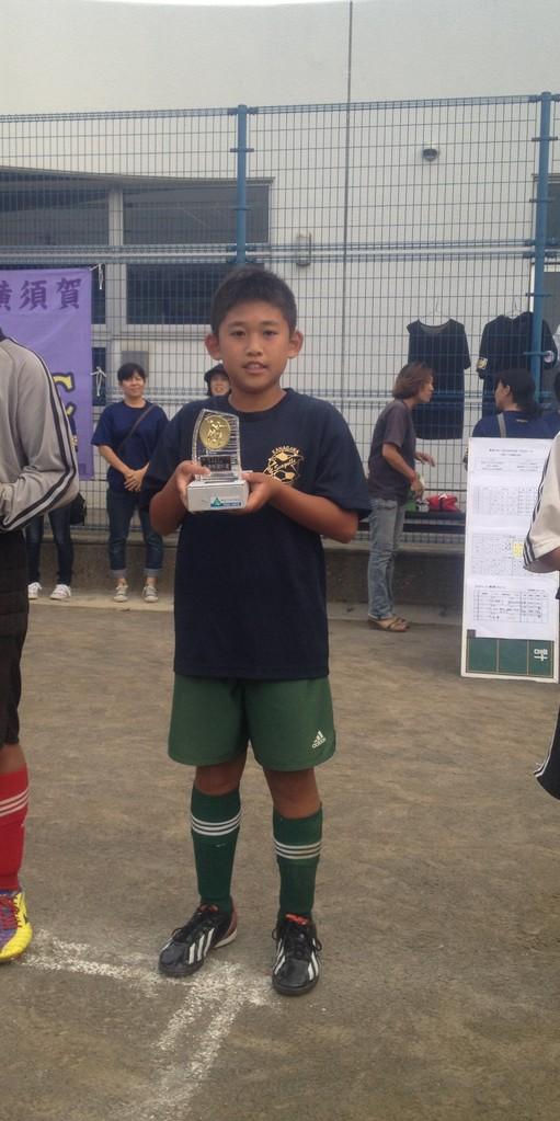 SKY CUP 最優秀選手賞