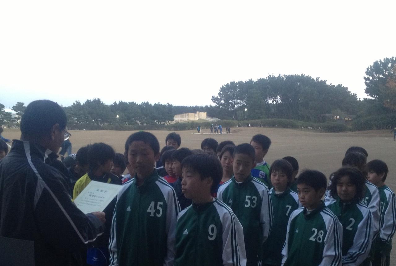 辻堂杯 U-12 敢闘賞