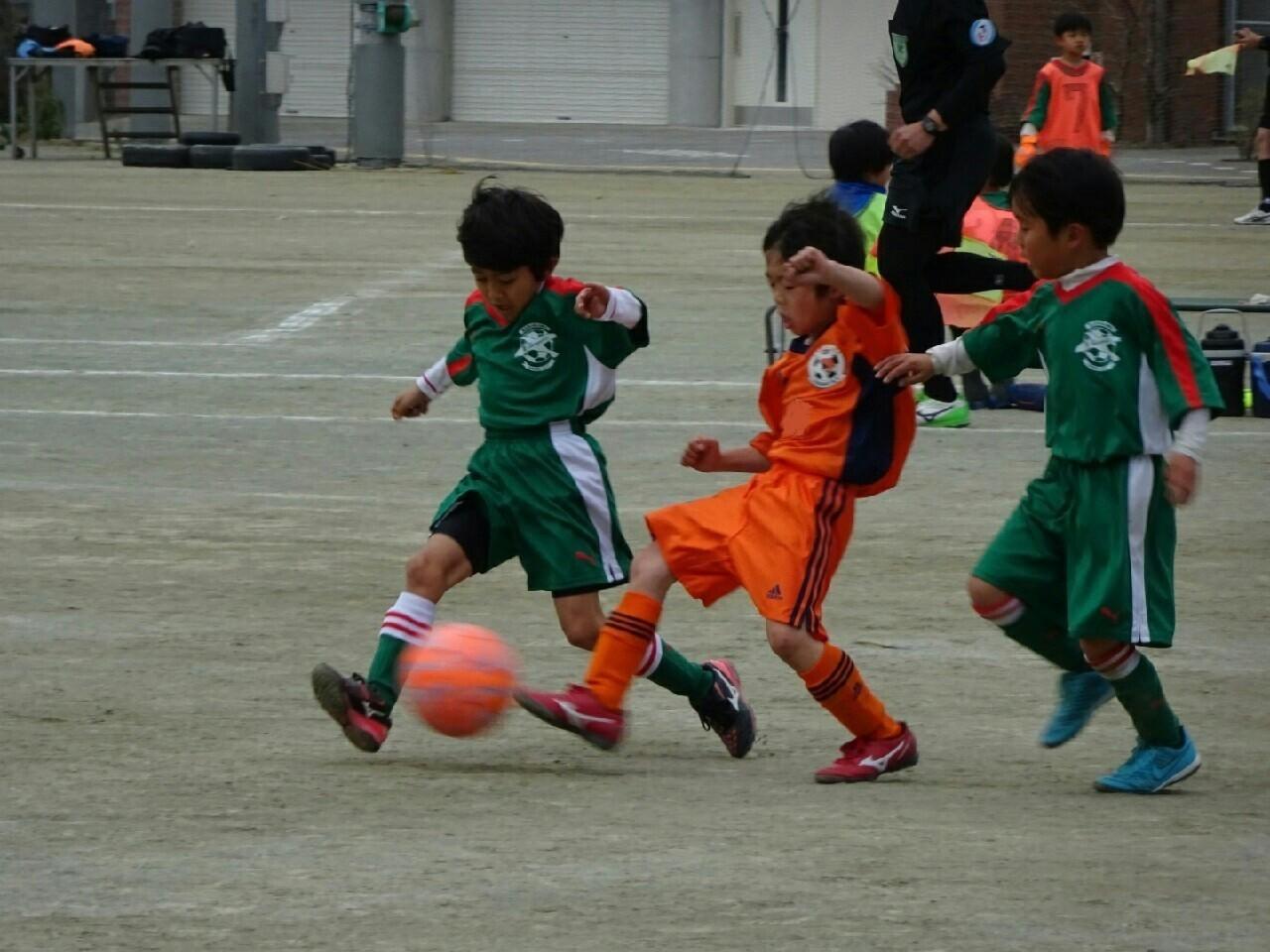 低学年冬の特別大会 U-7スイカ(1年生)