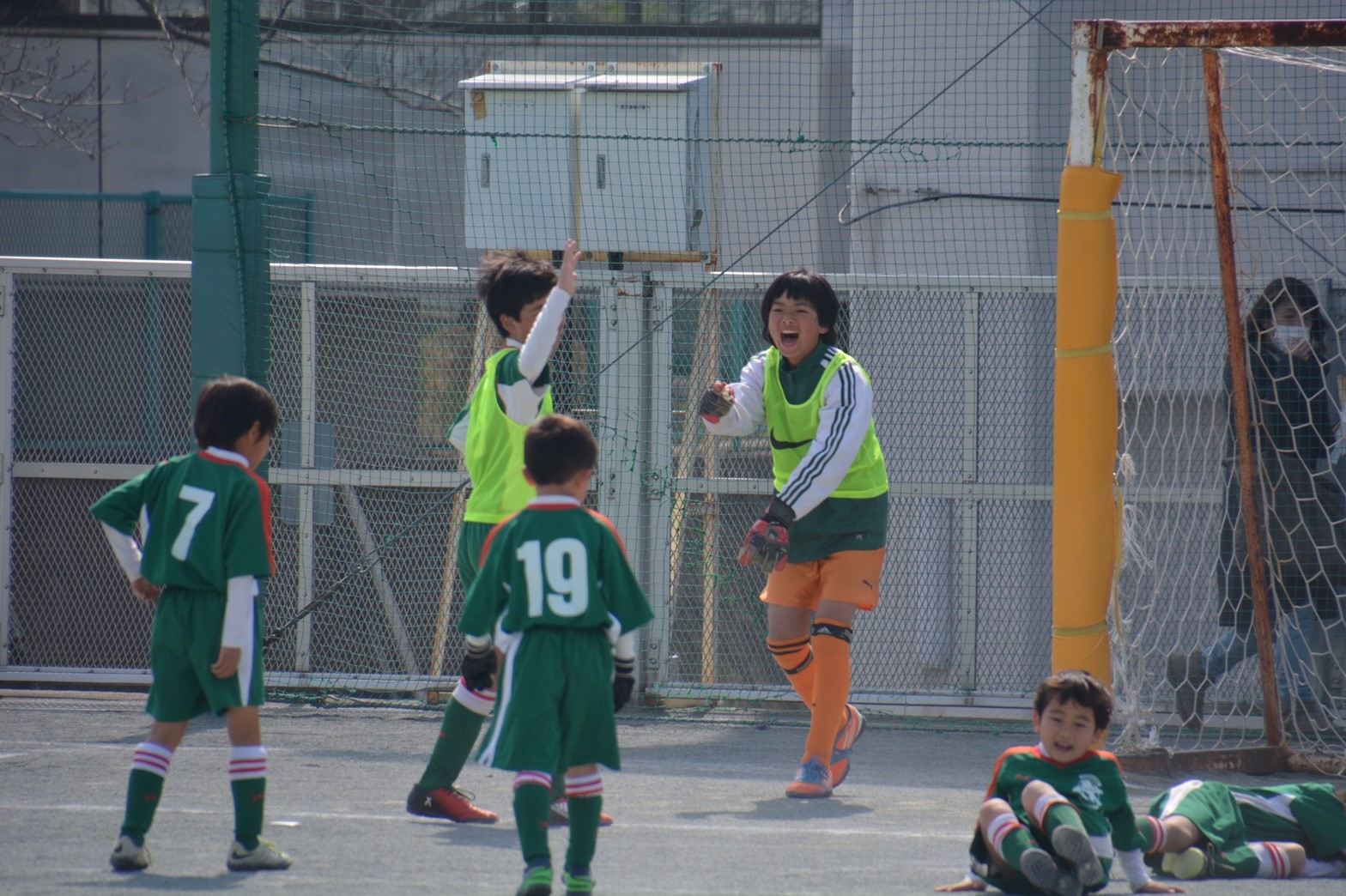 3/5 卒団式 送別試合