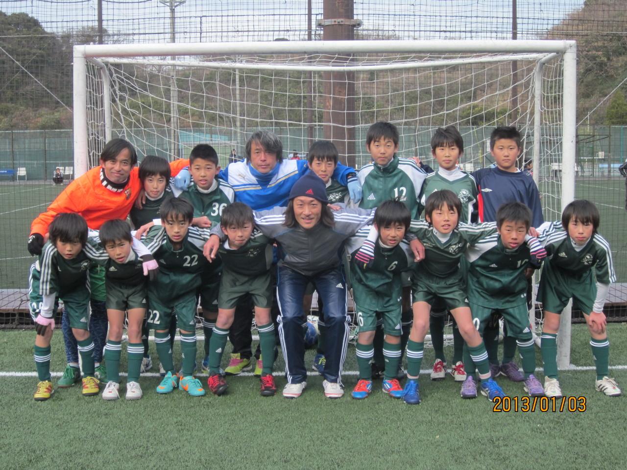 初蹴り大会 U-12( 6年生)