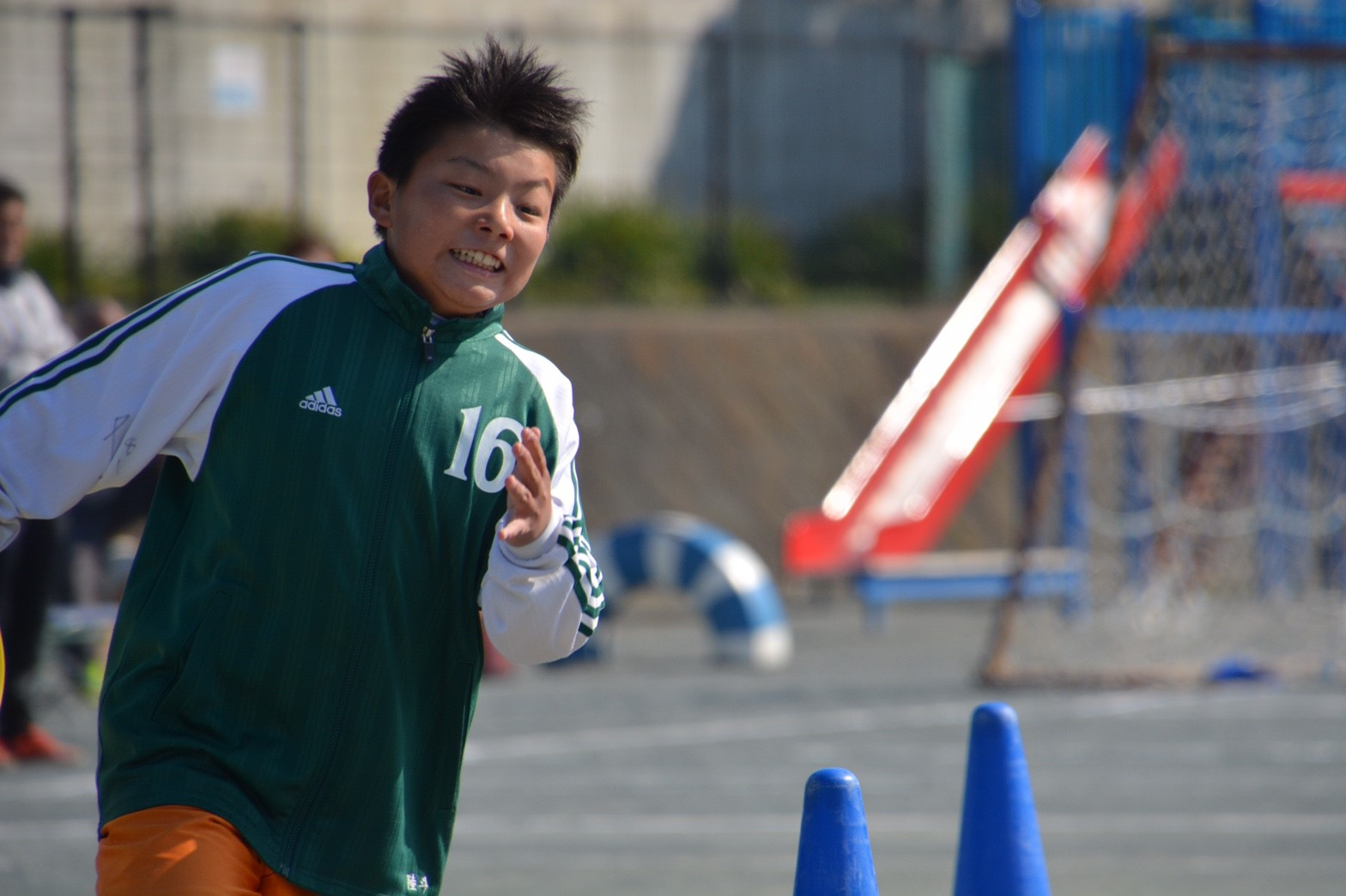 3/5 卒団式 リレー 卒団生vsコーチ