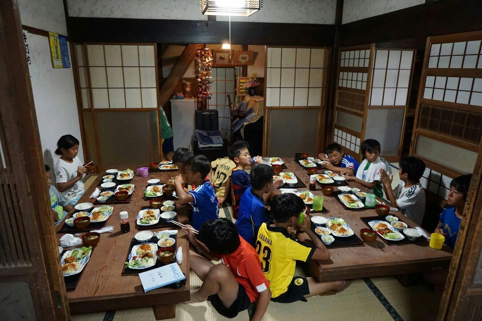 8/11~8/16宿泊遠征 U-12 清水カップ