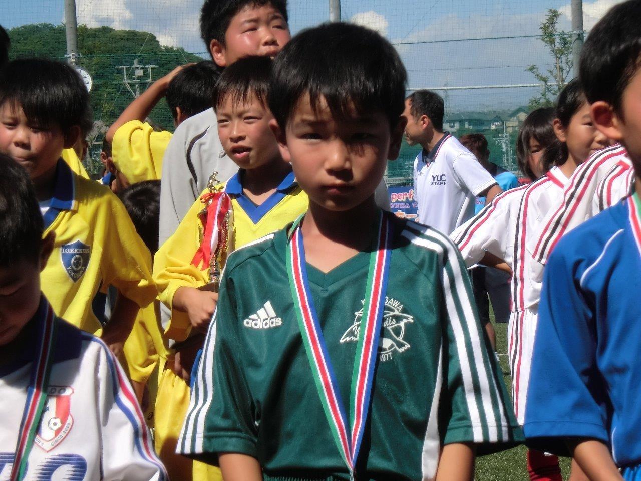 ライオンズカップ U-8 優秀選手賞
