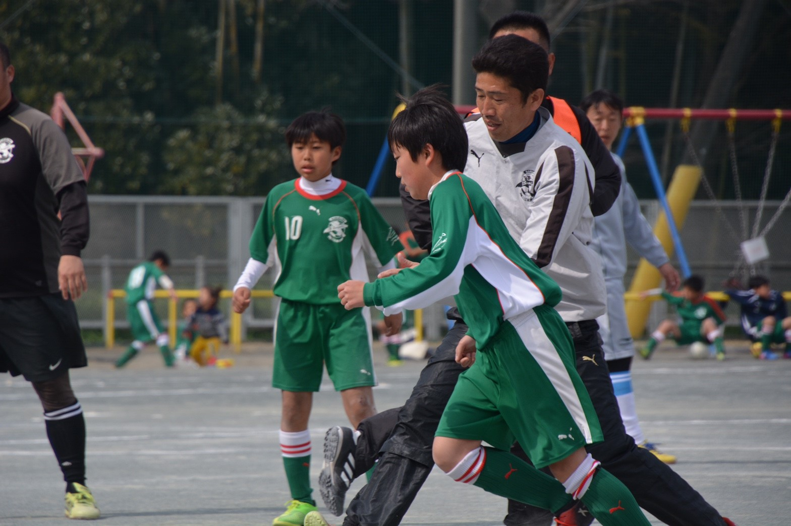 3/5 卒団式 卒団生vsコーチ