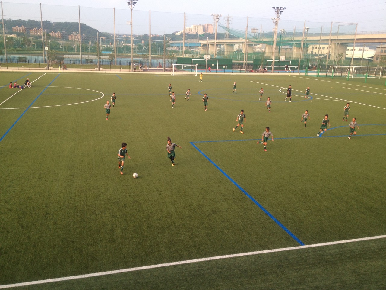 シーガルズ杯 U-12 シーガルズトップ vs シーガルズセカンド