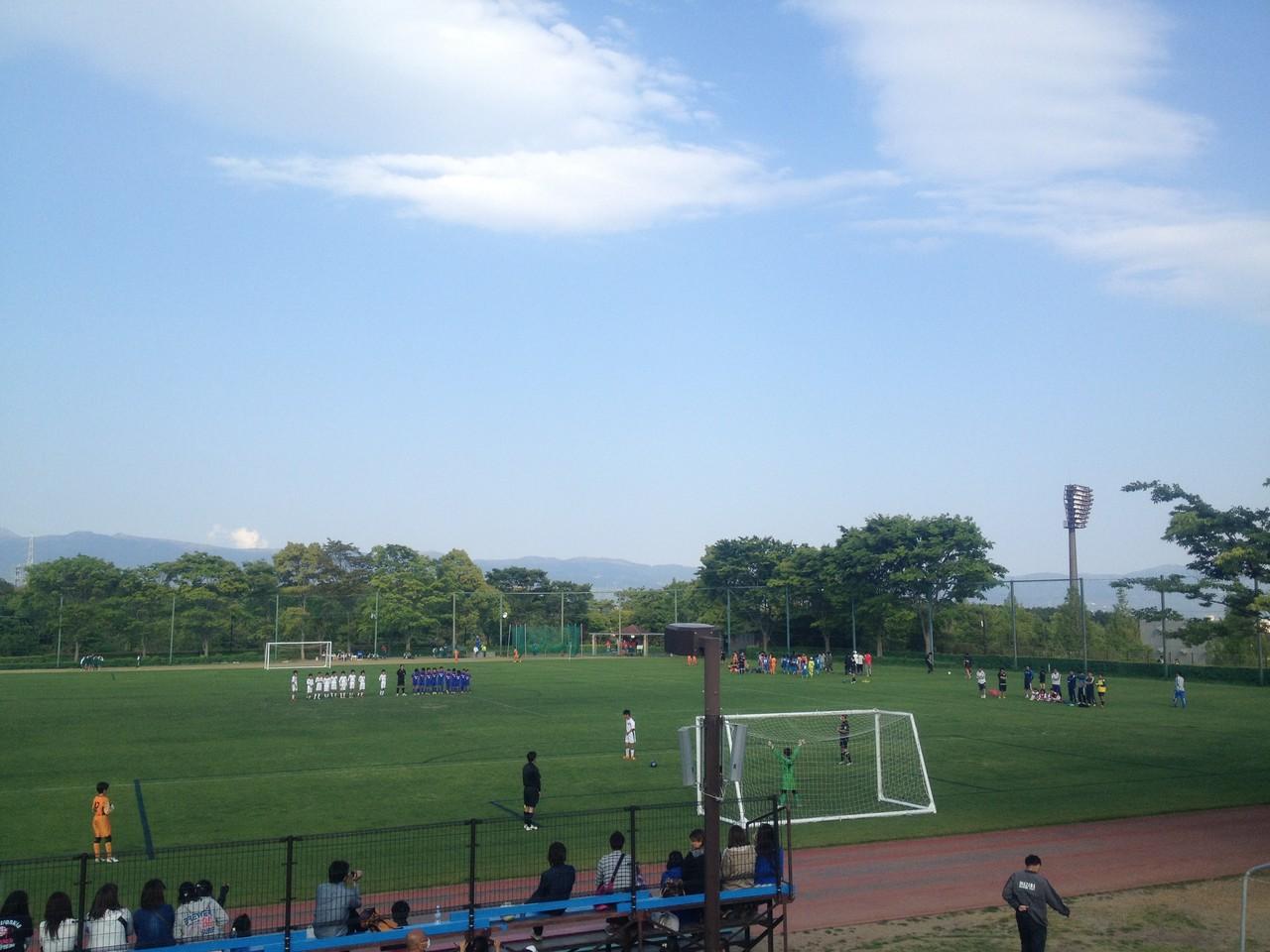アローカップ U-12A vsバディ中和田 PK戦