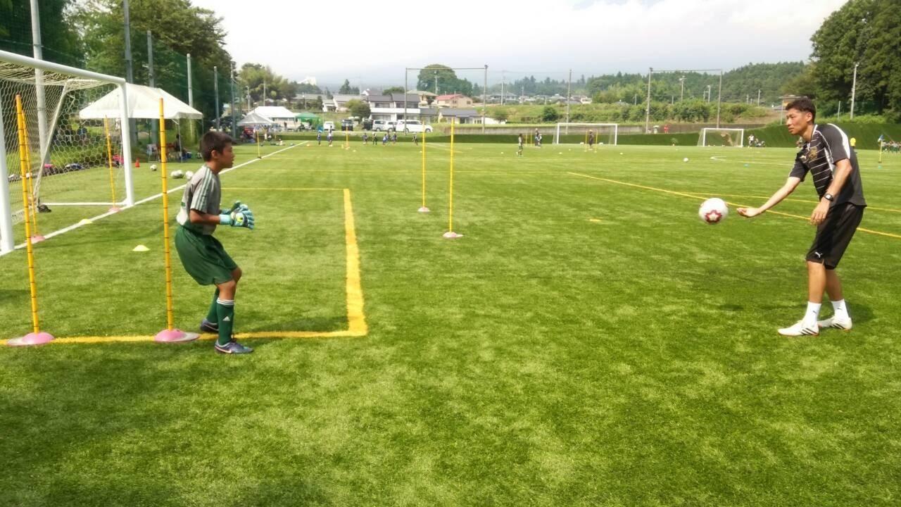 2015年度夏期合宿(U-13合同練習)