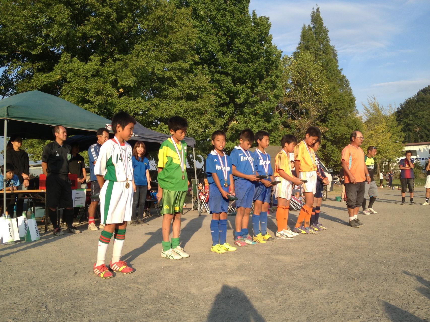 上南杯 U-12(6年生) ベストエイト賞