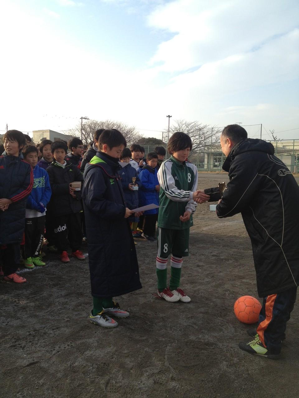 浜見平カップ U-12(6年生) 準優勝