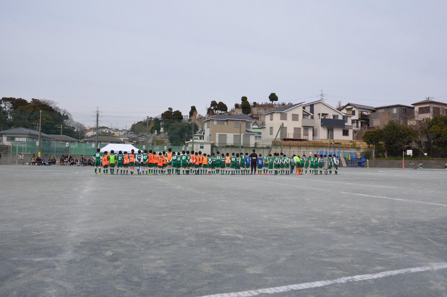 3/5 卒団式 卒団生vs5年生