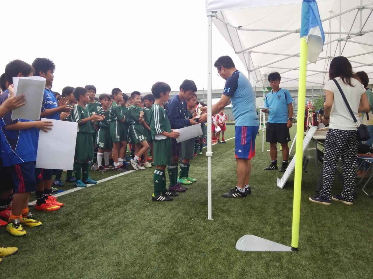 かもめ杯・シーガルズ杯 U-11(5年生) 表彰式
