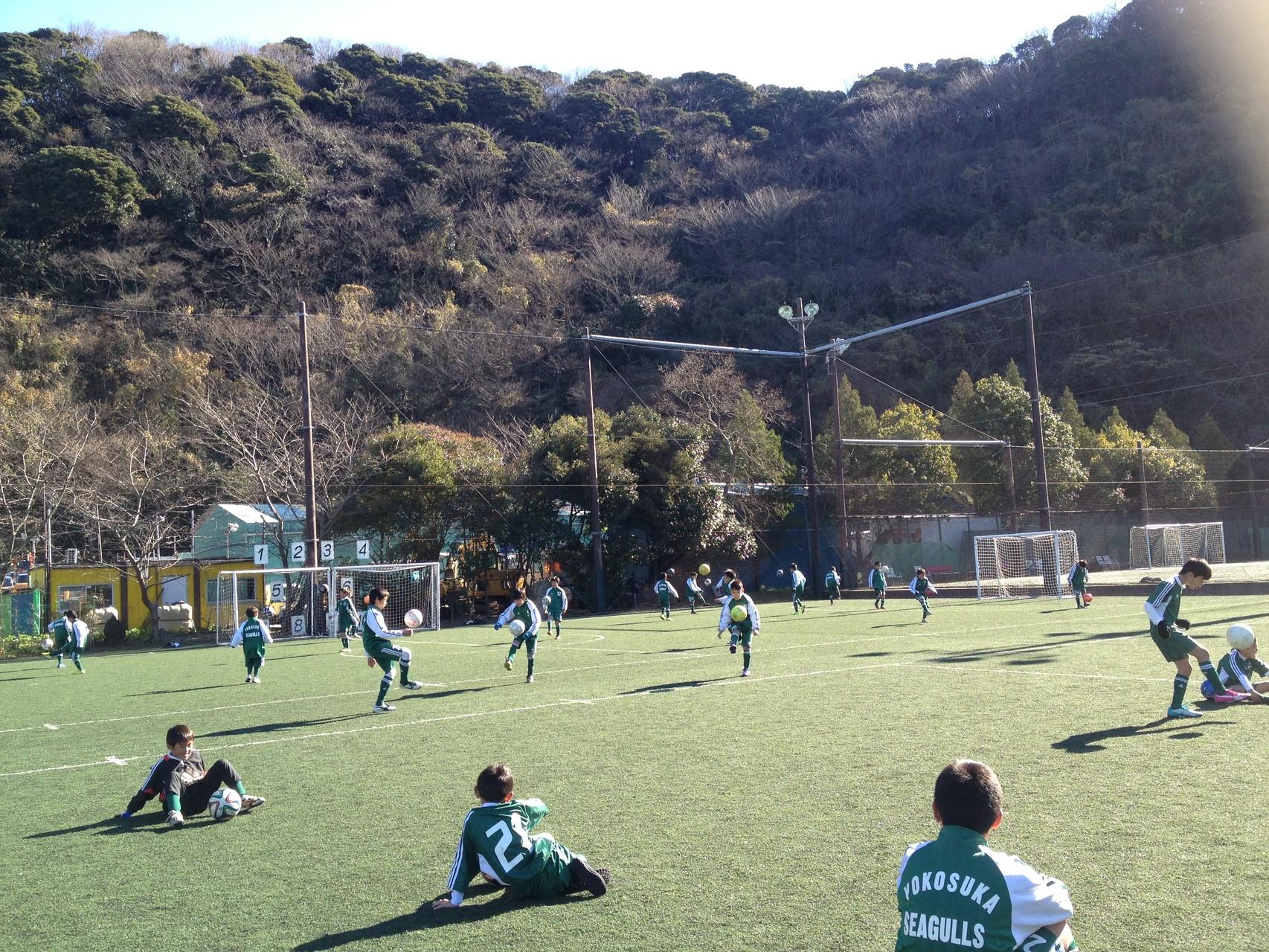 初蹴り大会 2015