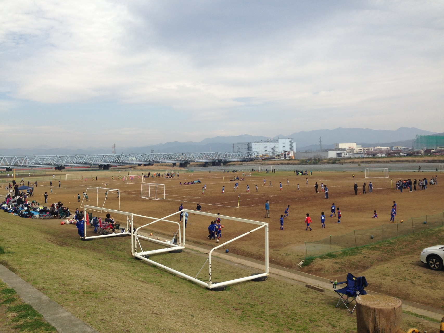 足柄ミニサッカー大会U-8