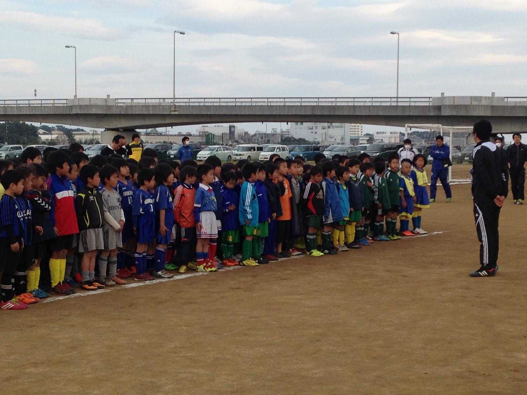 足柄ミニサッカー大会U-8 閉会式