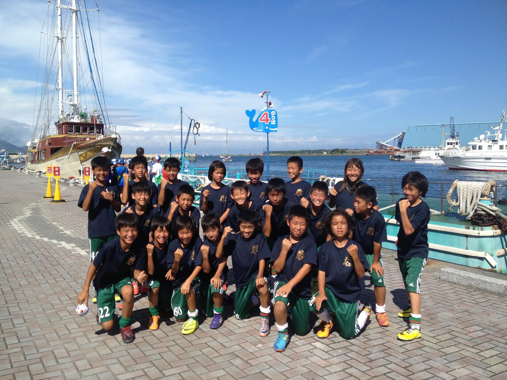 清水カップ U-12(6年生)清水港にて