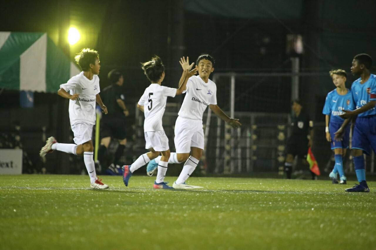 8月24日(木) U-12 ジュニアサッカーワールドチャレンジ2017 佐藤 優磨くん