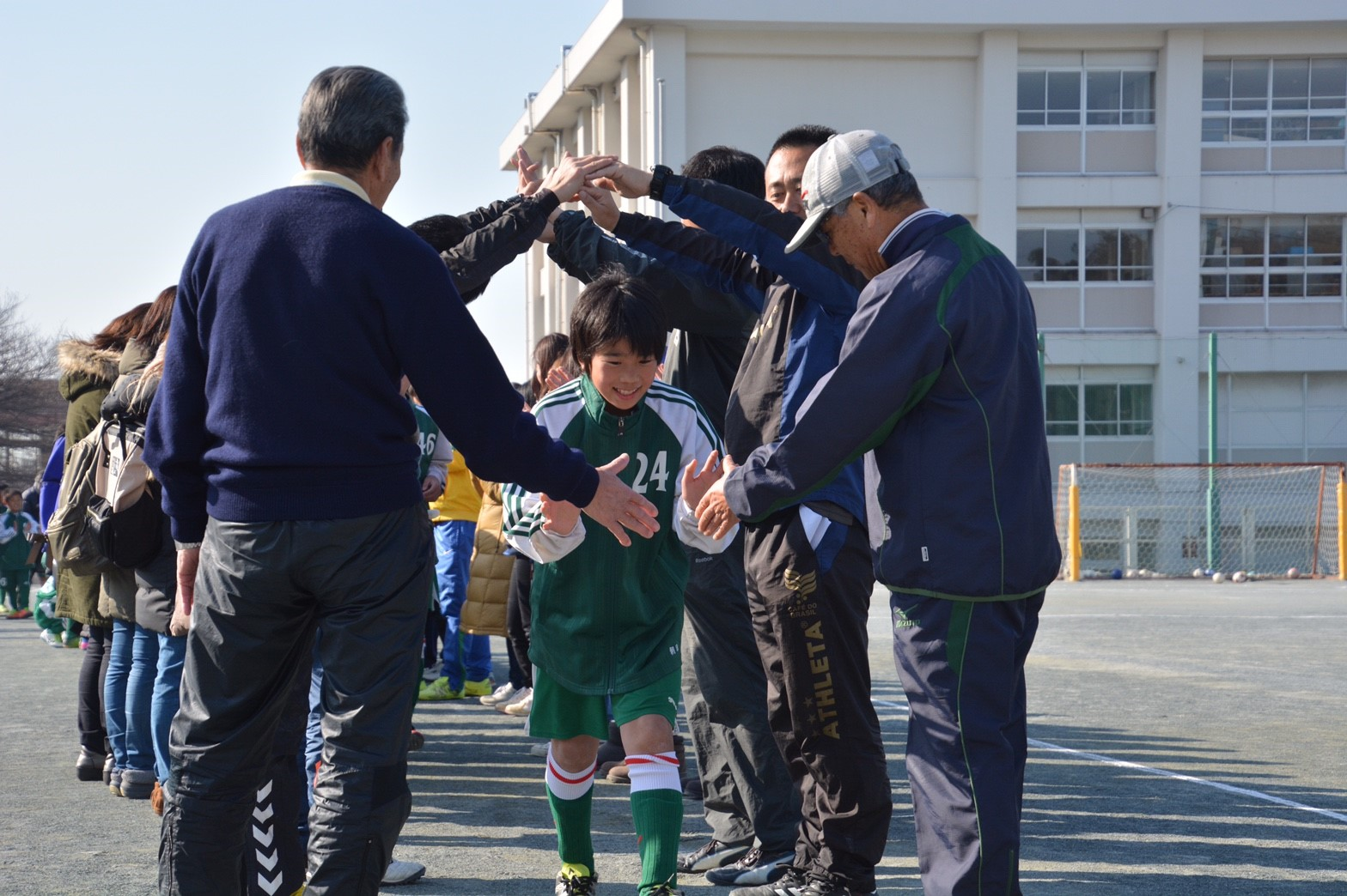 3/5 卒団式 入場&開会式