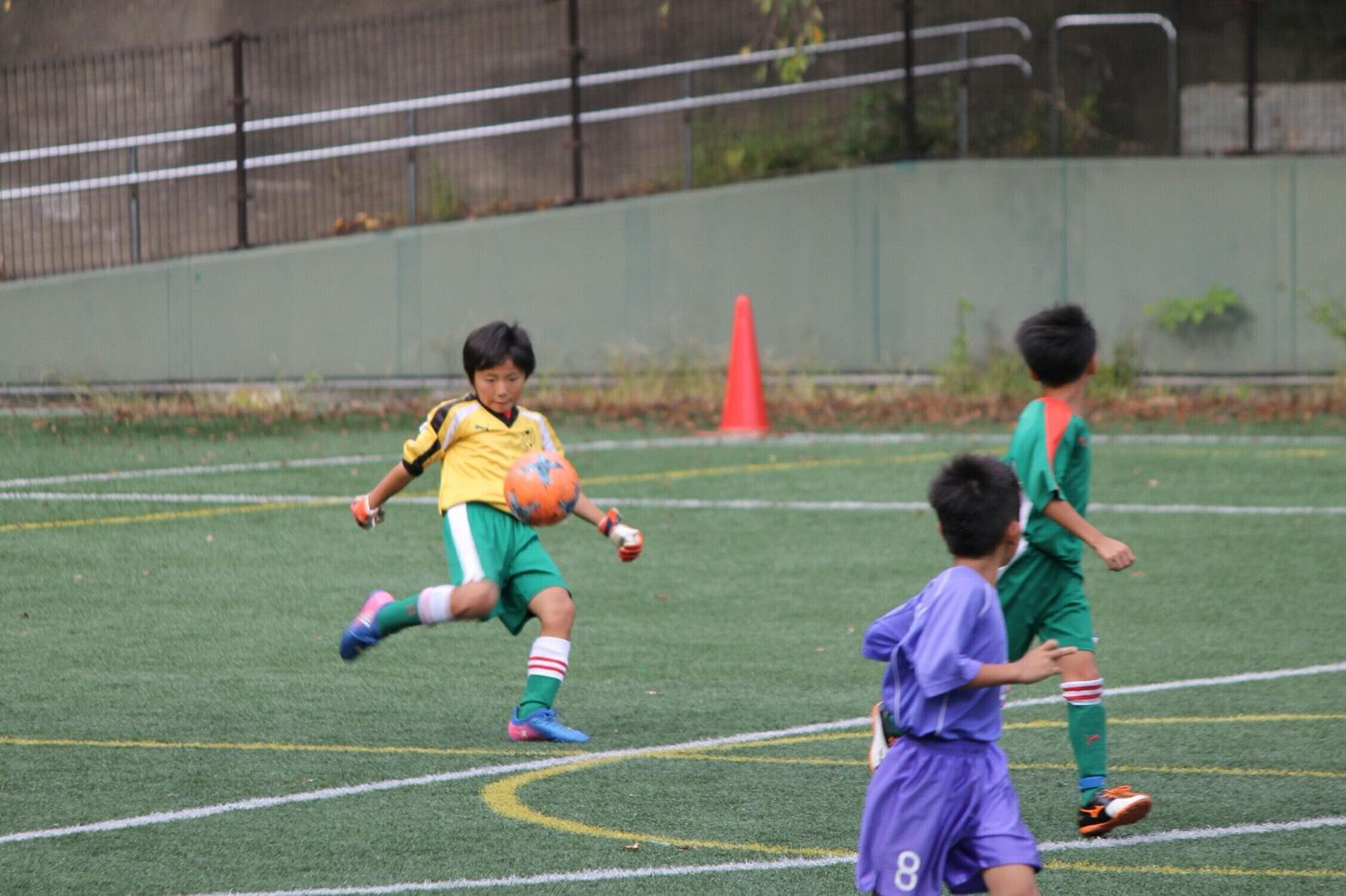 10月8日(日) U-9 あざみ野キッカーズ杯