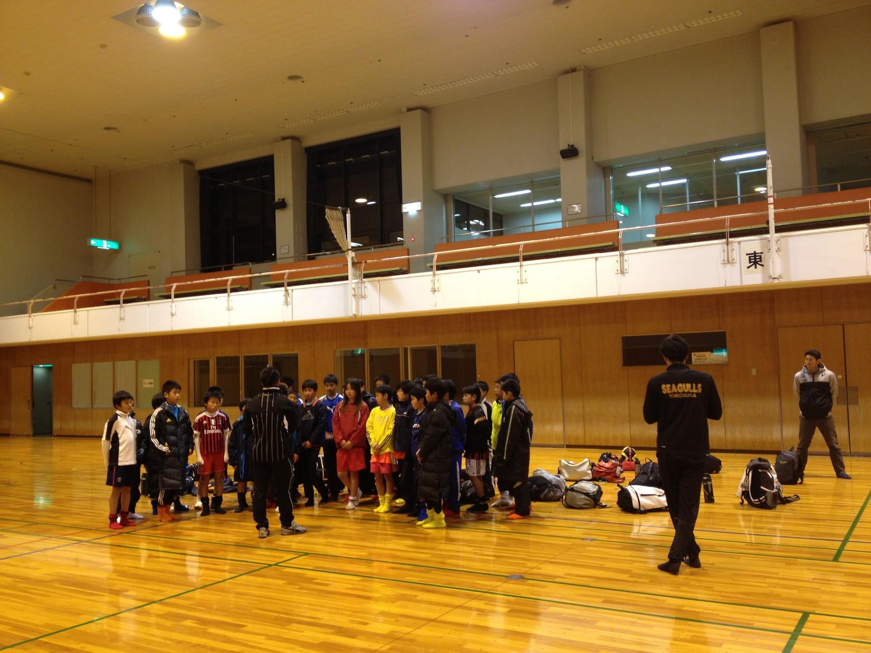 平日体育館練習 U-12(6年生)