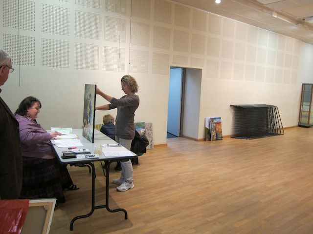 Un grand merci aux bénévoles qui ont transformé la salle des fêtes