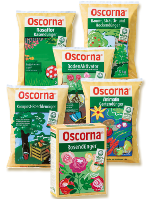 Oscorna- Produktpalette